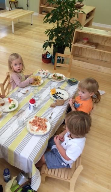 Montessori Lunch