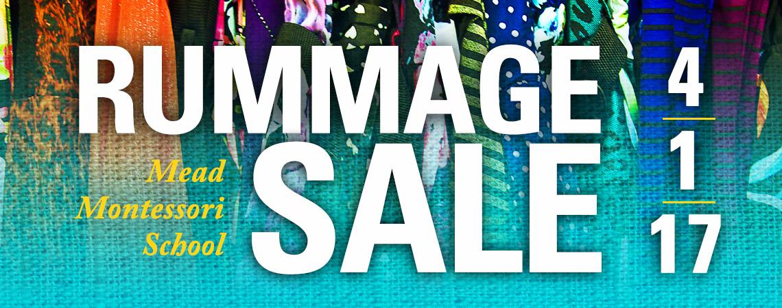 Rummage Sale 4/1/17