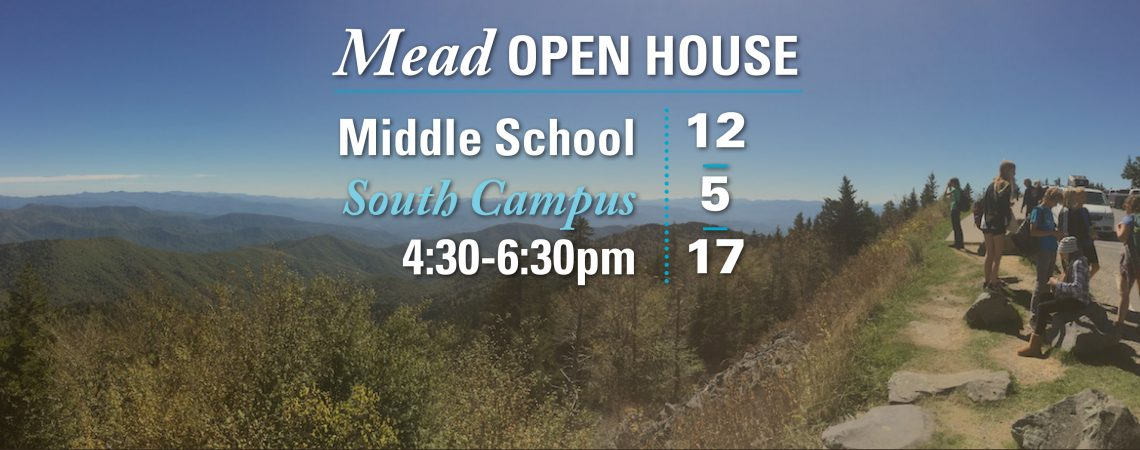 Open House for Middle School enrollment for 2018-19