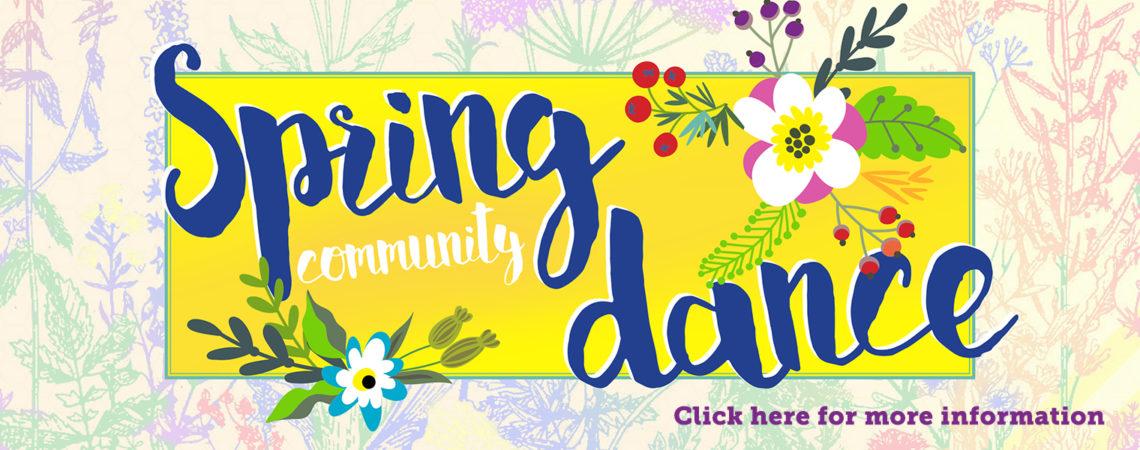 Spring Community Dance 4/13/18